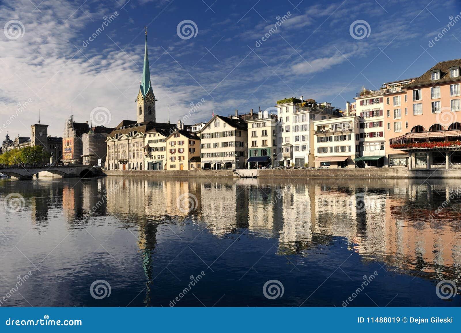 Paesaggio urbano di Zurigo