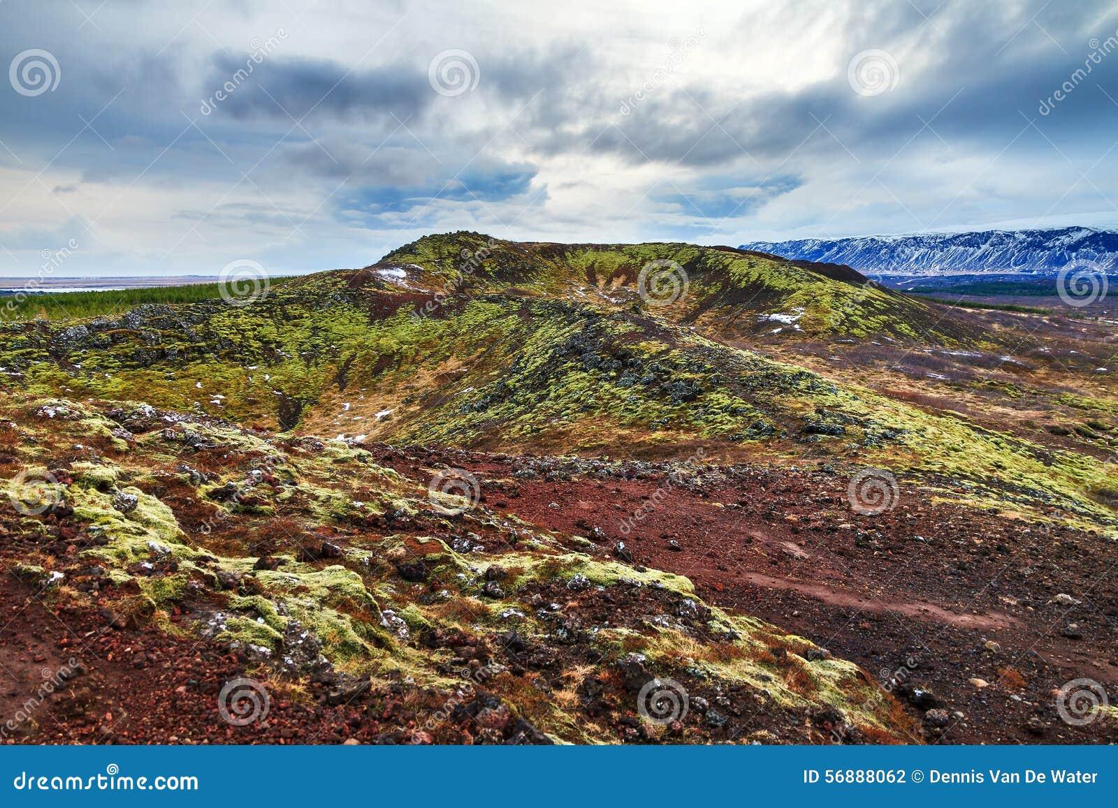 Paesaggio vulcanico