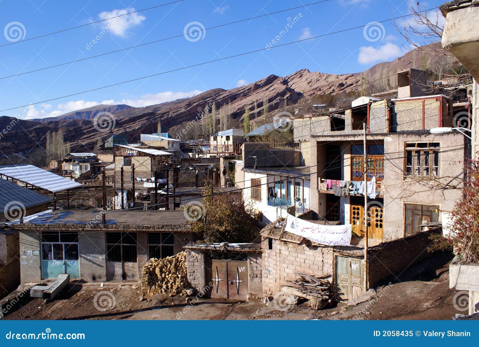 Paesino di montagna nell Iran