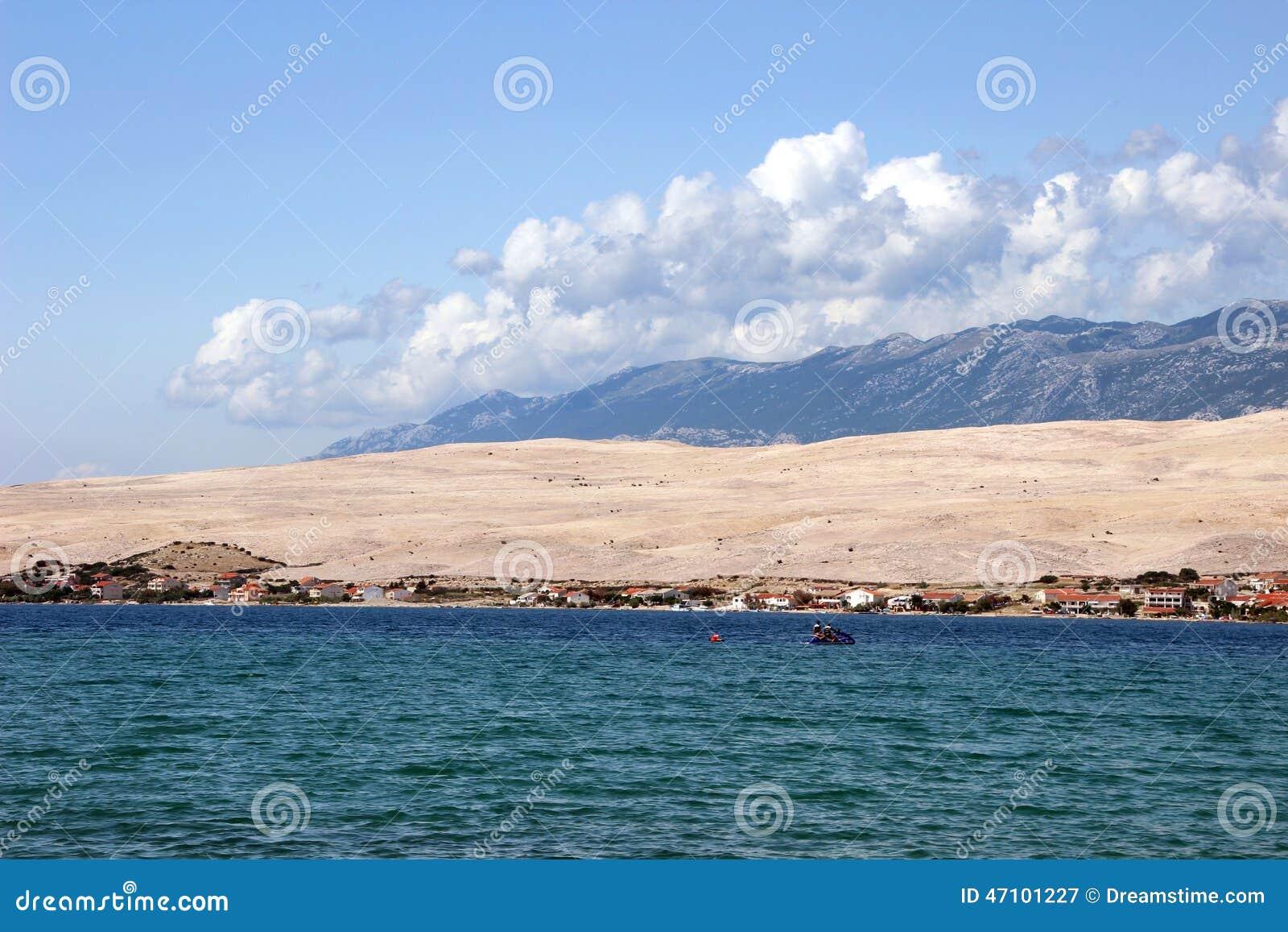 PAG, Ansicht von SV Duh Strand