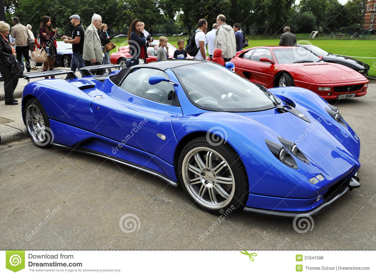 a pagani zonda f editorial stock photo image 21041598. Black Bedroom Furniture Sets. Home Design Ideas