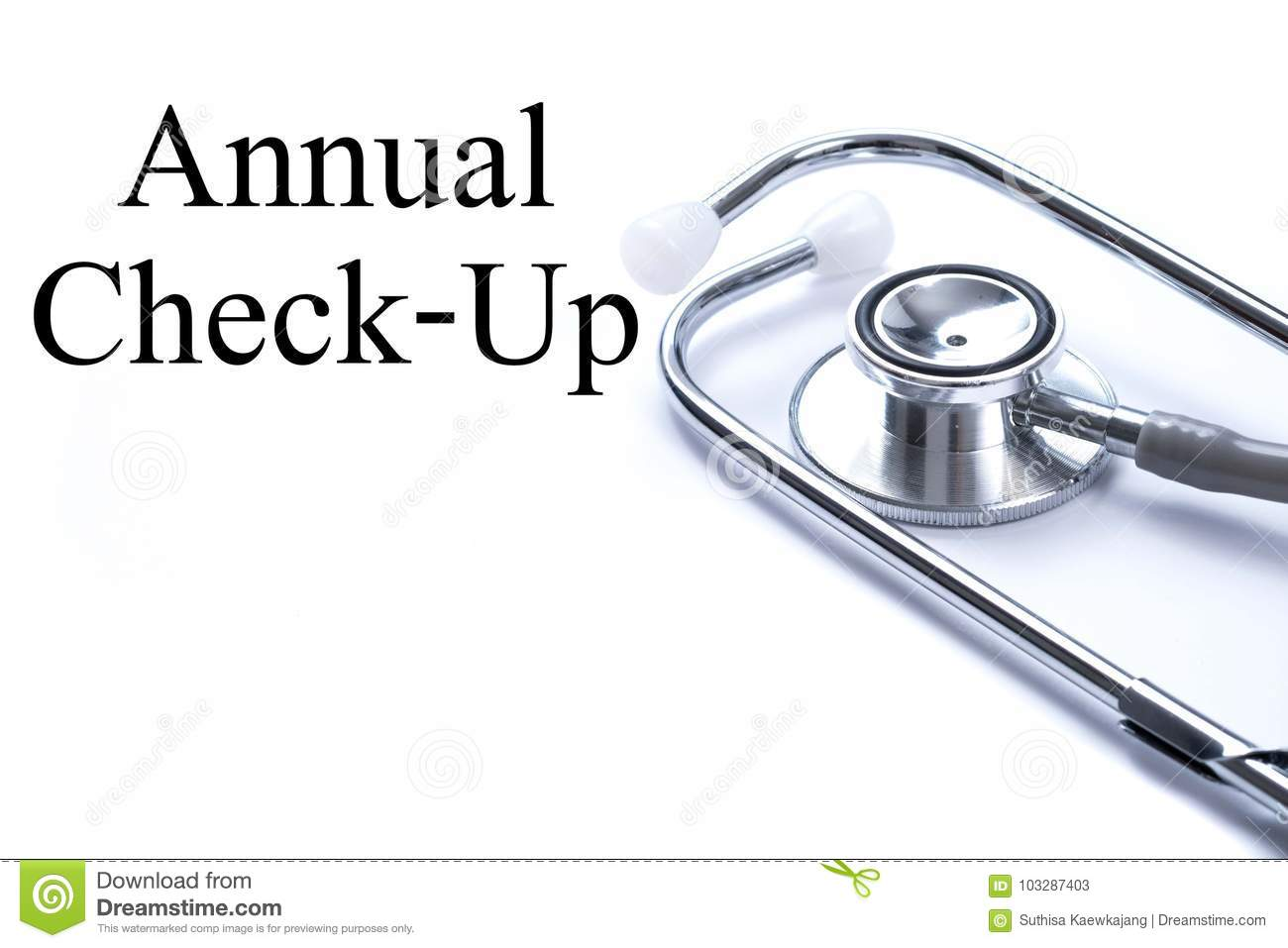 Annual doctor check up
