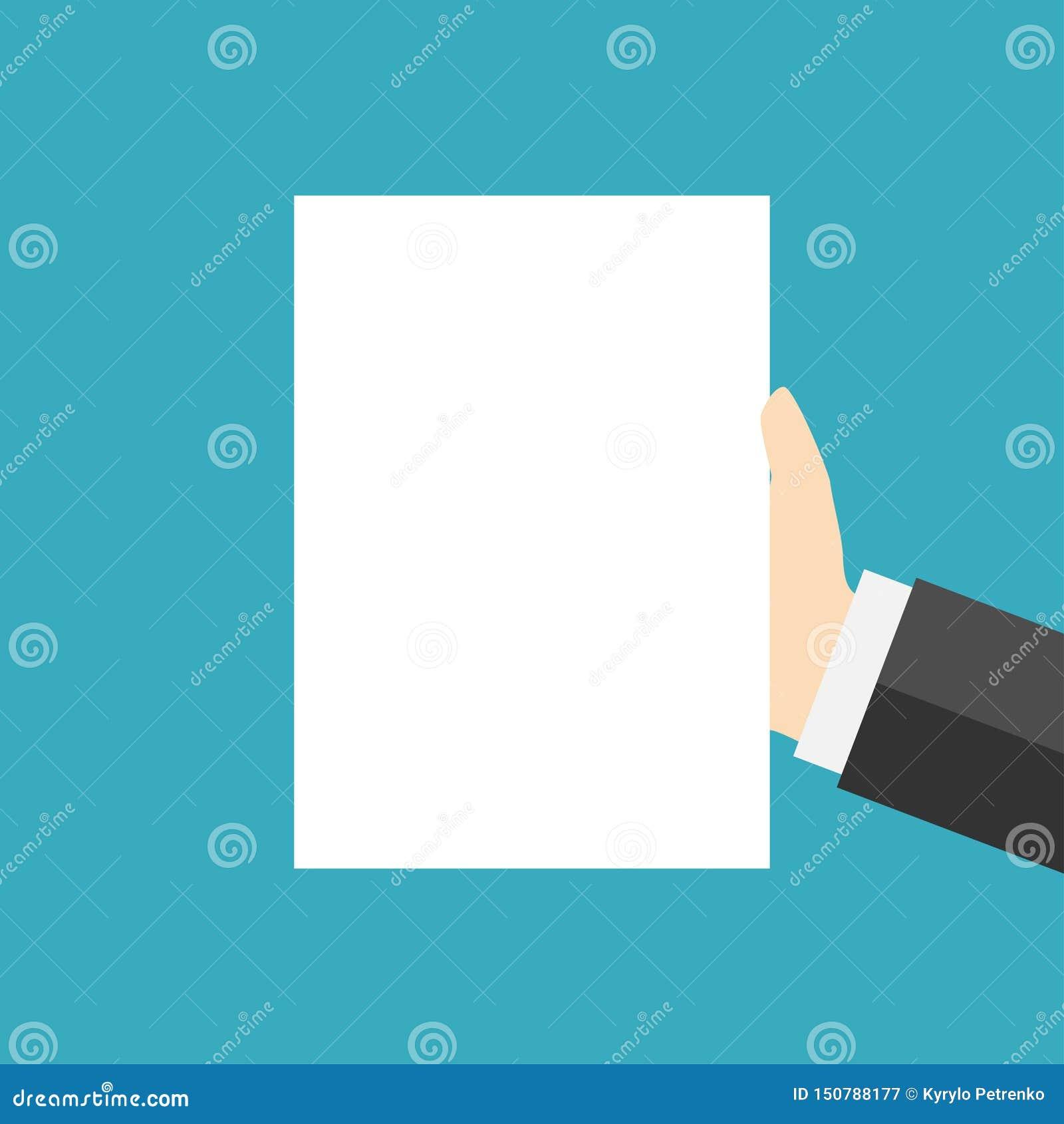 Page blanche du livre blanc actuelle