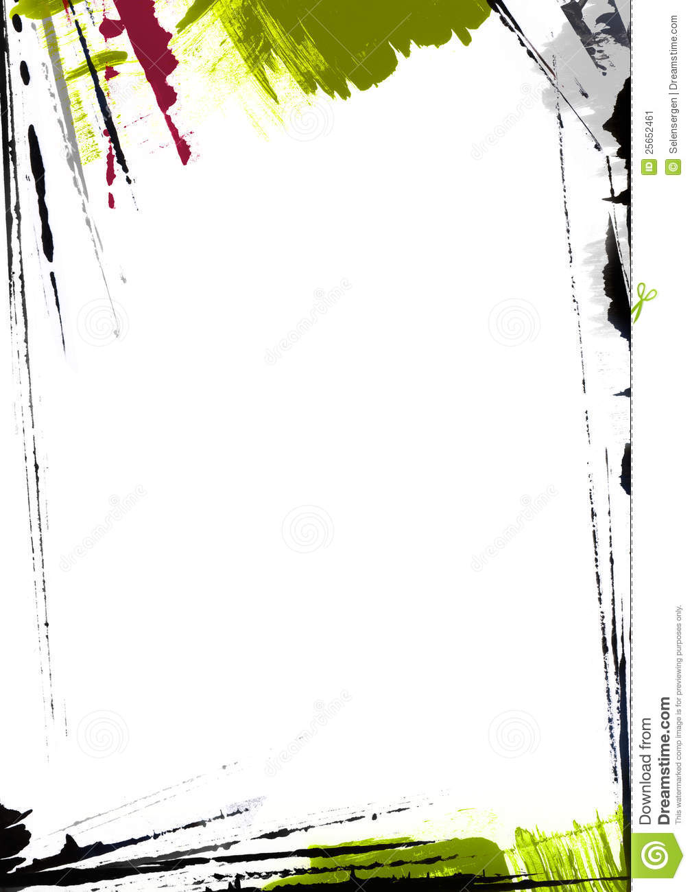 Page border painting stock illustration illustration of grunge page border painting grunge messy voltagebd Image collections