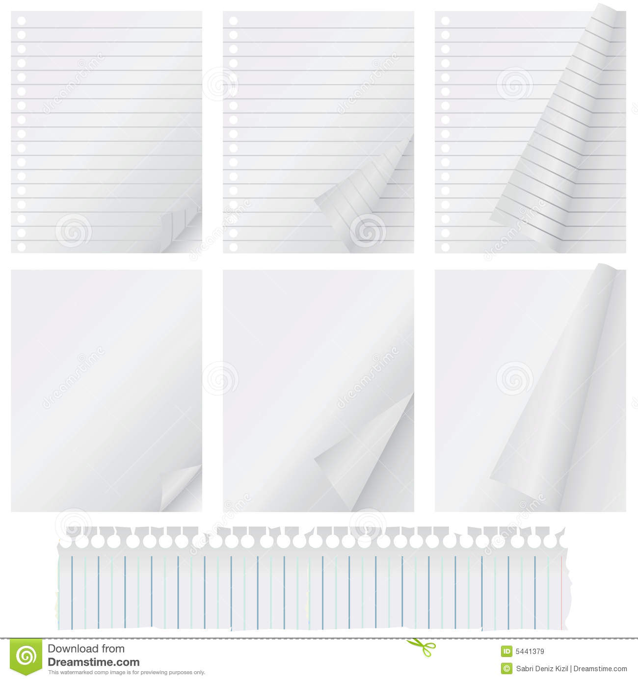 page curl vector royalty free stock images image 5441379