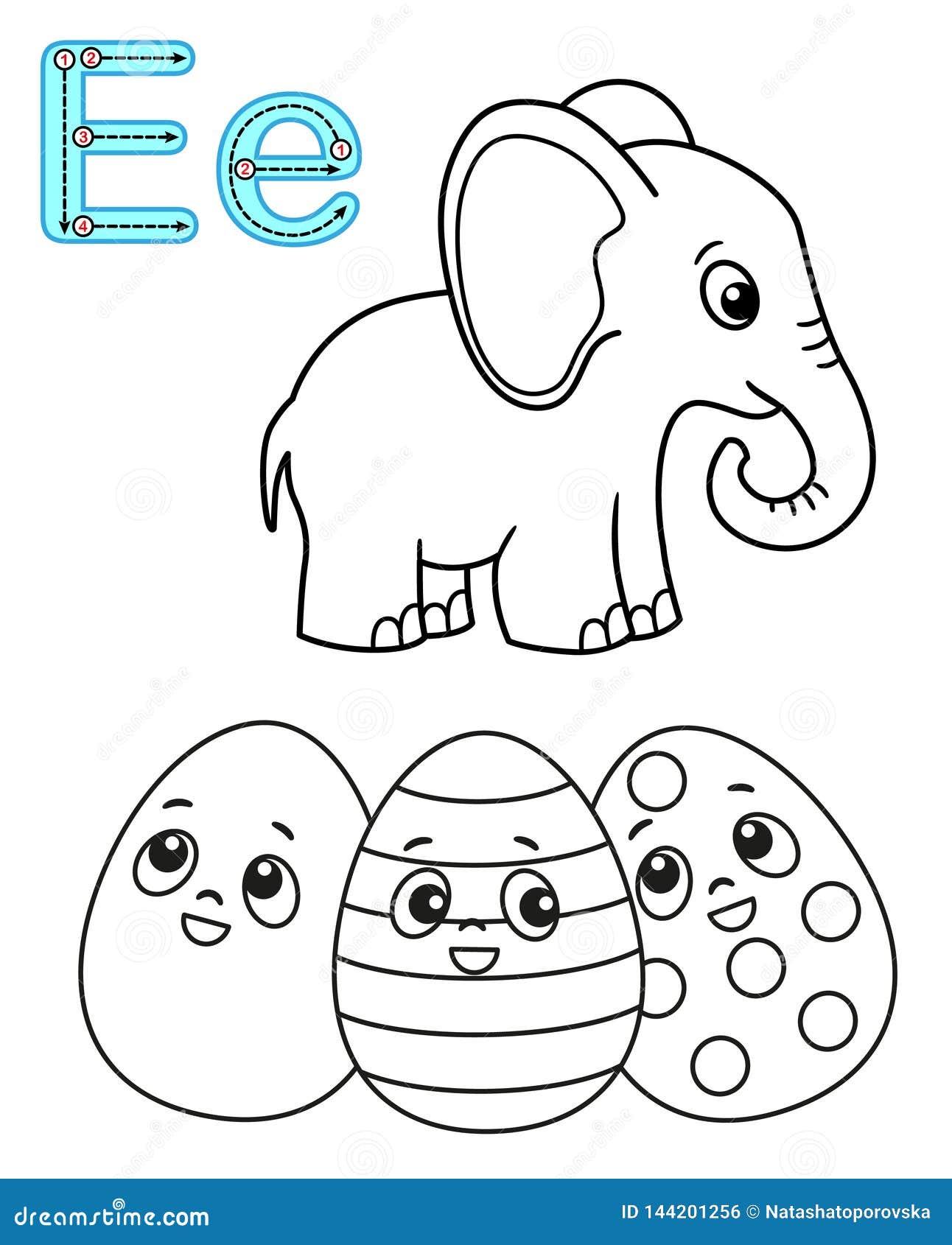 Coloriage Paques Anglais.Page De Coloration Imprimable Pour Le Jardin D Enfants Et L