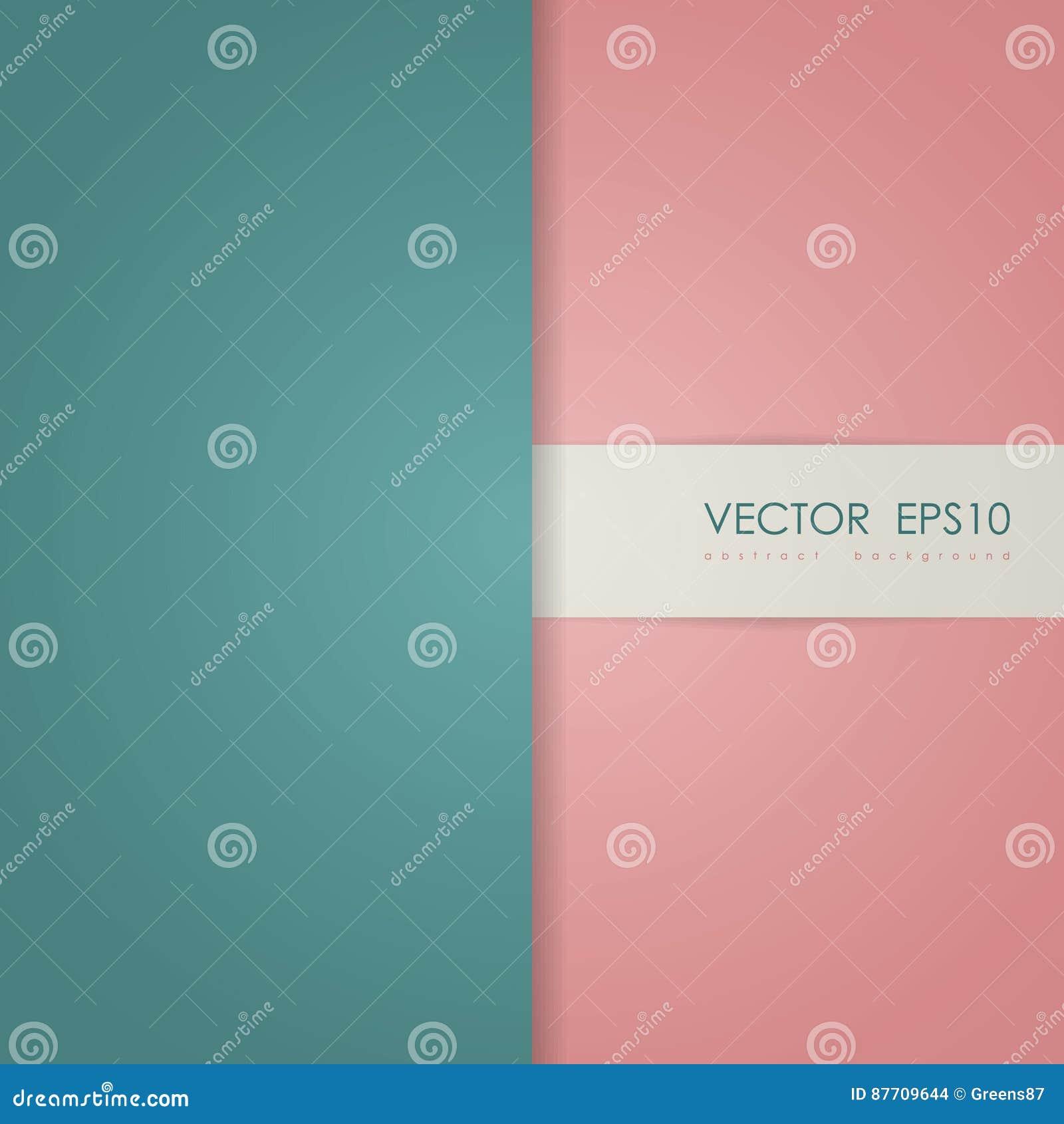 Page de couverture simple abstraite avec des couches de papier vertes et rouges