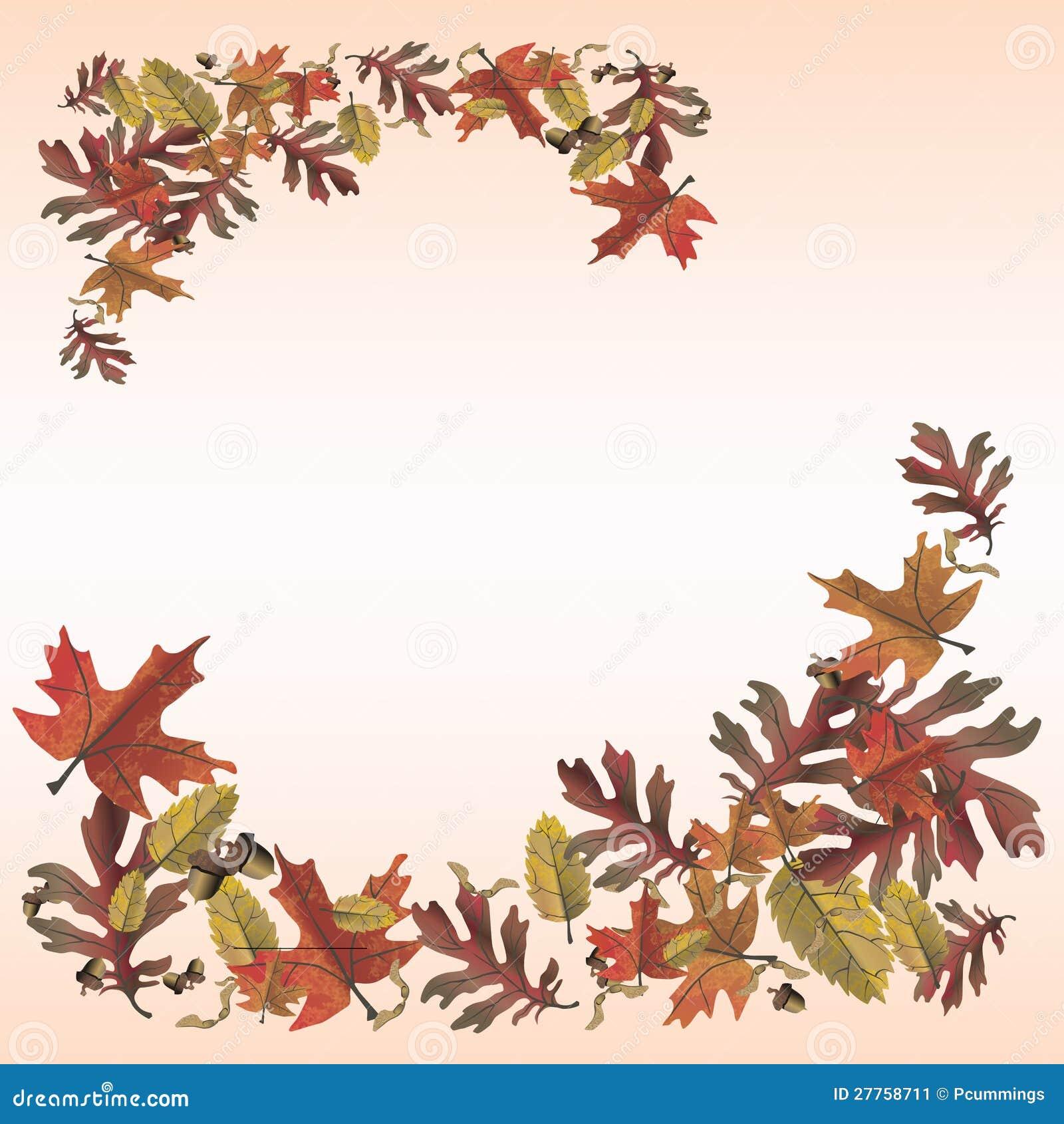 Page de note de lames d automne