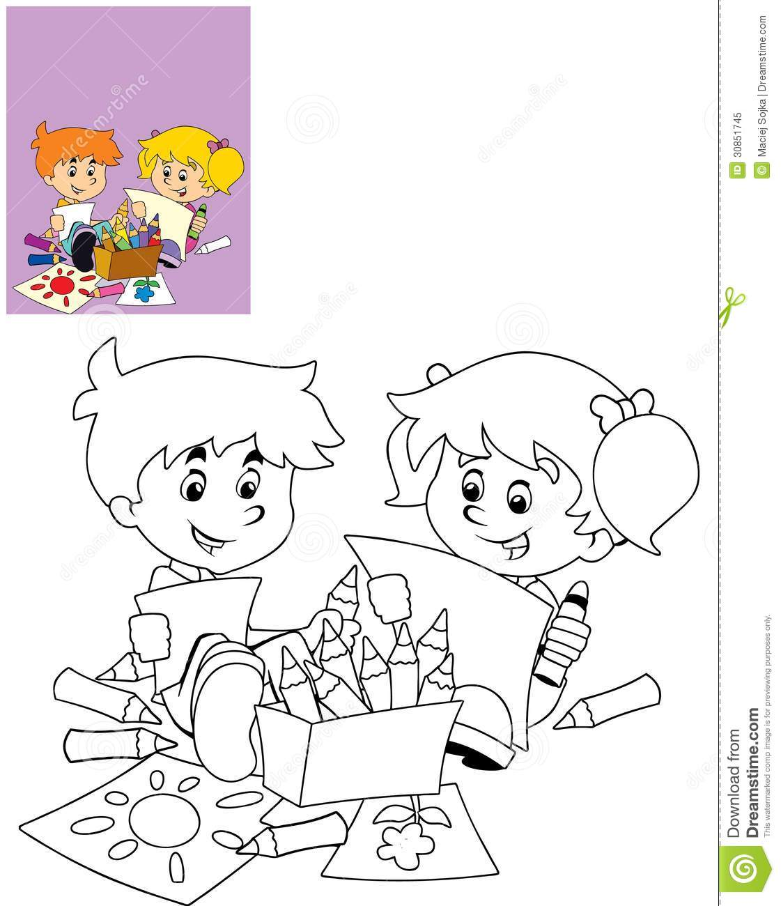 The page with exercises for kids coloring book - Toddler libro da colorare ...
