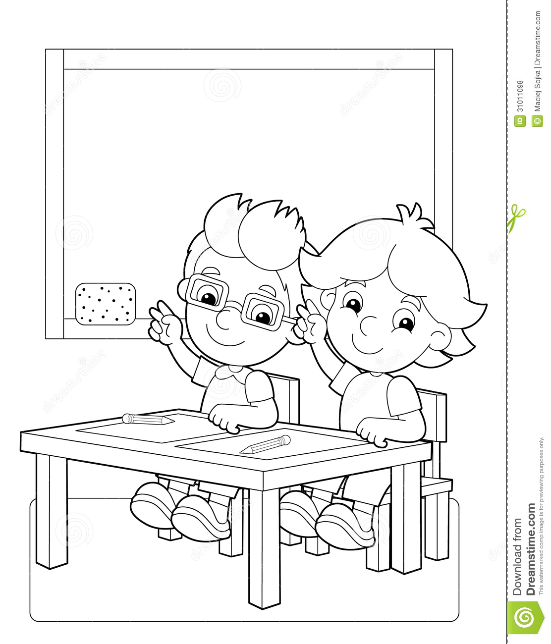 The Page With Exercises For Kids - Coloring Book ...