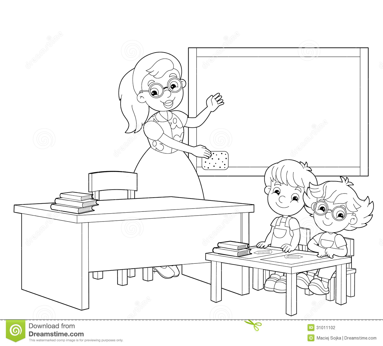 royalty free stock photo - Coloring Pictures Of Children