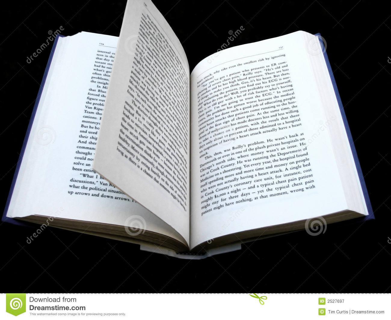 Page Flip Stock Image. Image Of Word, Spine, Fiction