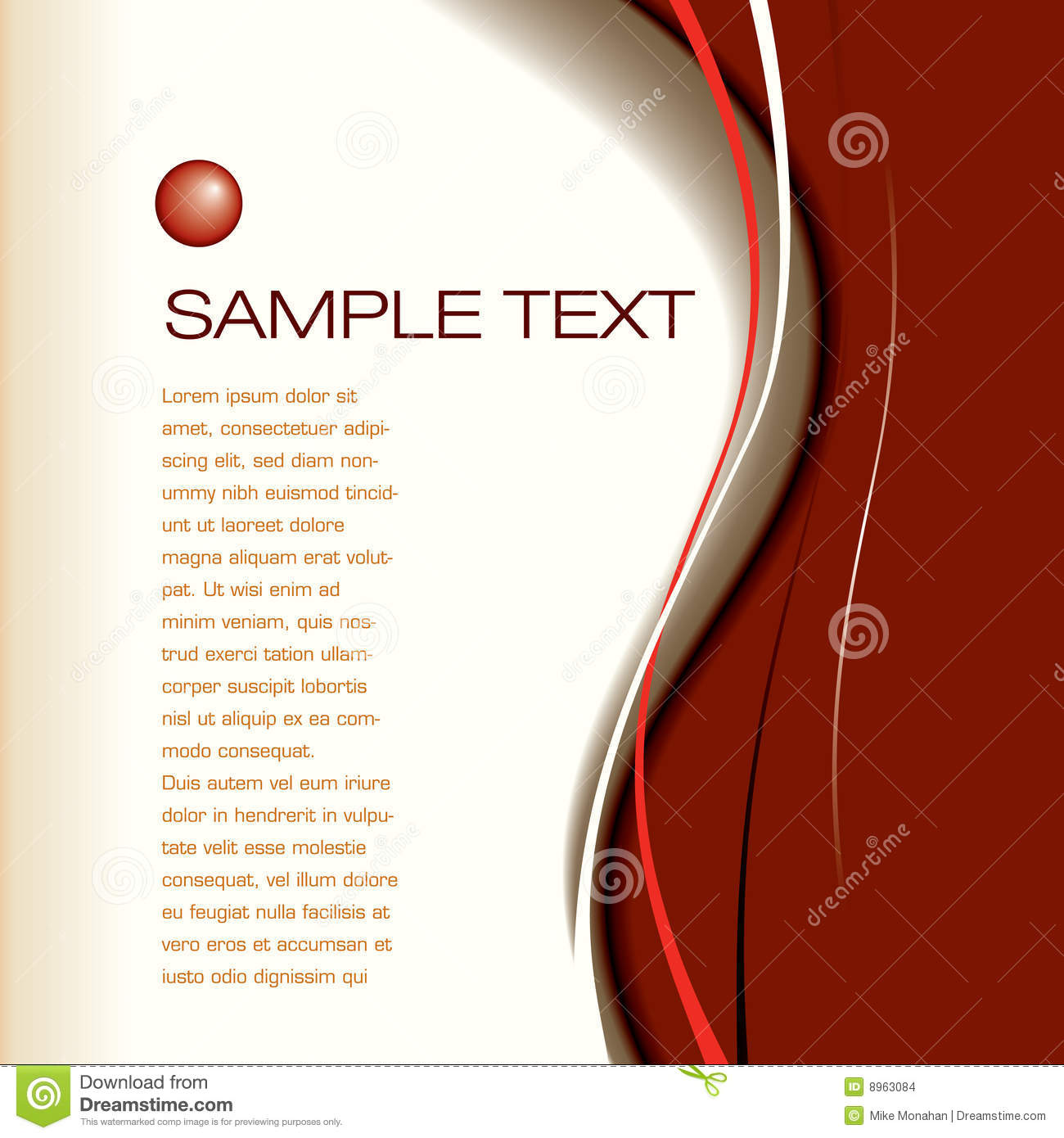 page layout background stock vector illustration of artistic 8963084