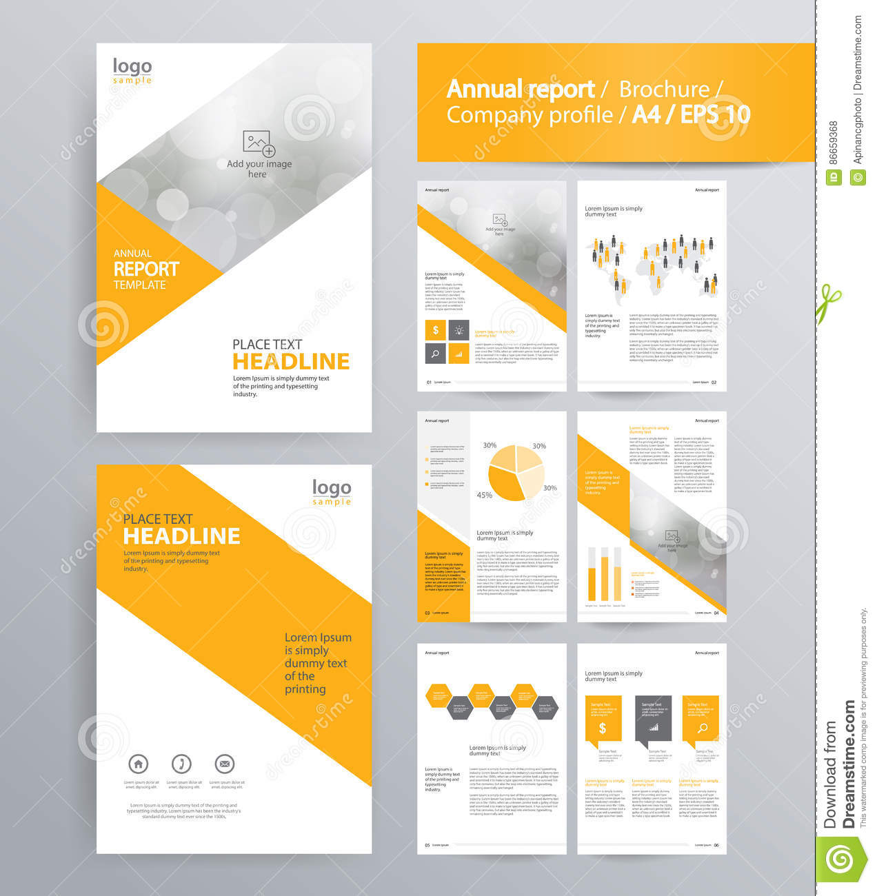 page layout for company profile annual report and brochure template chart marketing