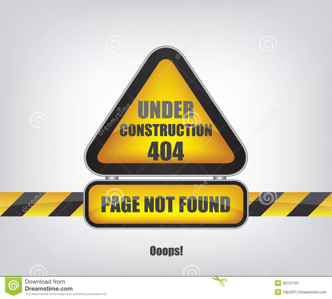 page not found error 404 stock image