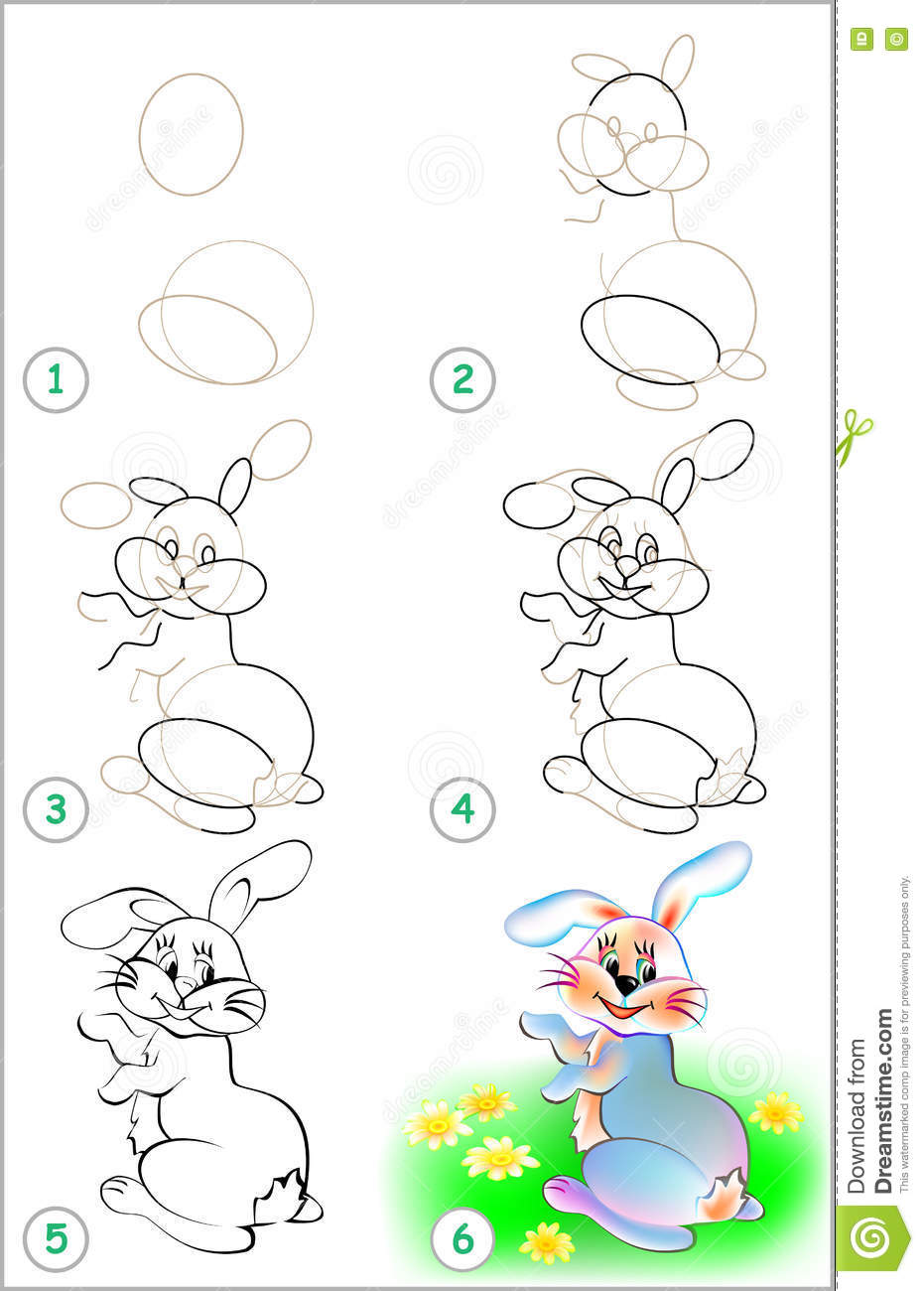 Draw Drawing How Image Learn Page Rabbit