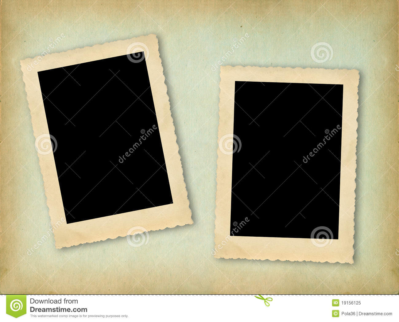 page of vintage photo album royalty free stock photo. Black Bedroom Furniture Sets. Home Design Ideas