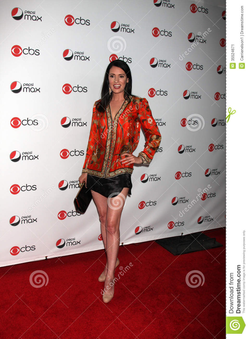 Paget Brewster Editorial Photo Image 35524671
