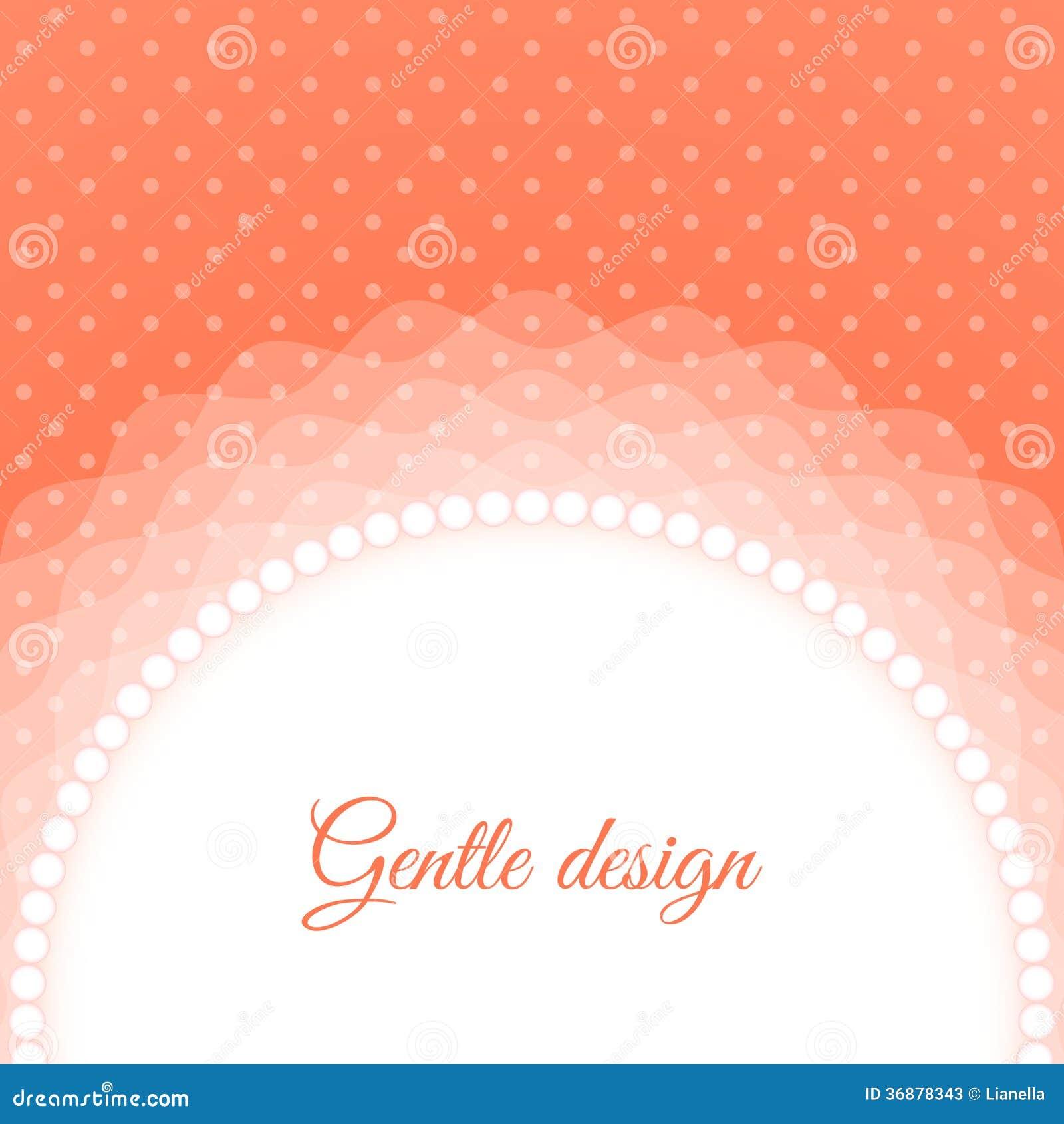 Download Pagina con le perle illustrazione vettoriale. Illustrazione di data - 36878343
