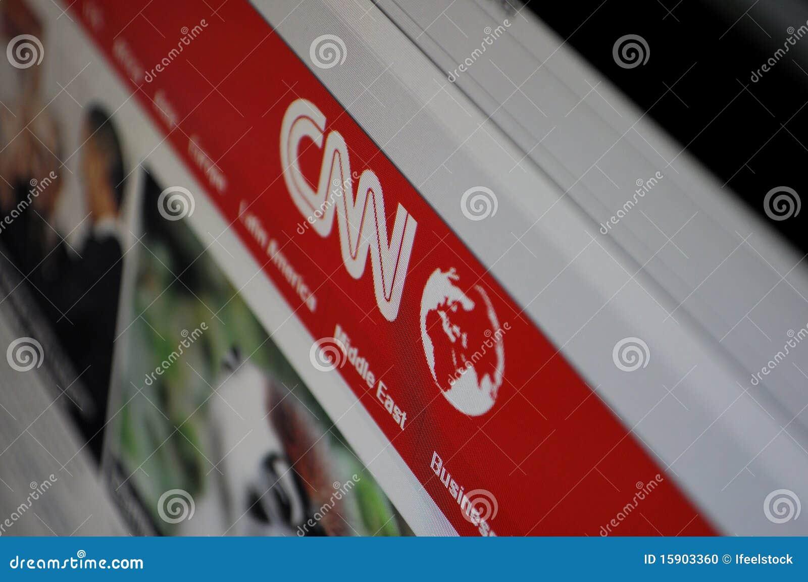 Pagina di cnn dello schermo di computer immagine for Portico dello schermo prefabbricato