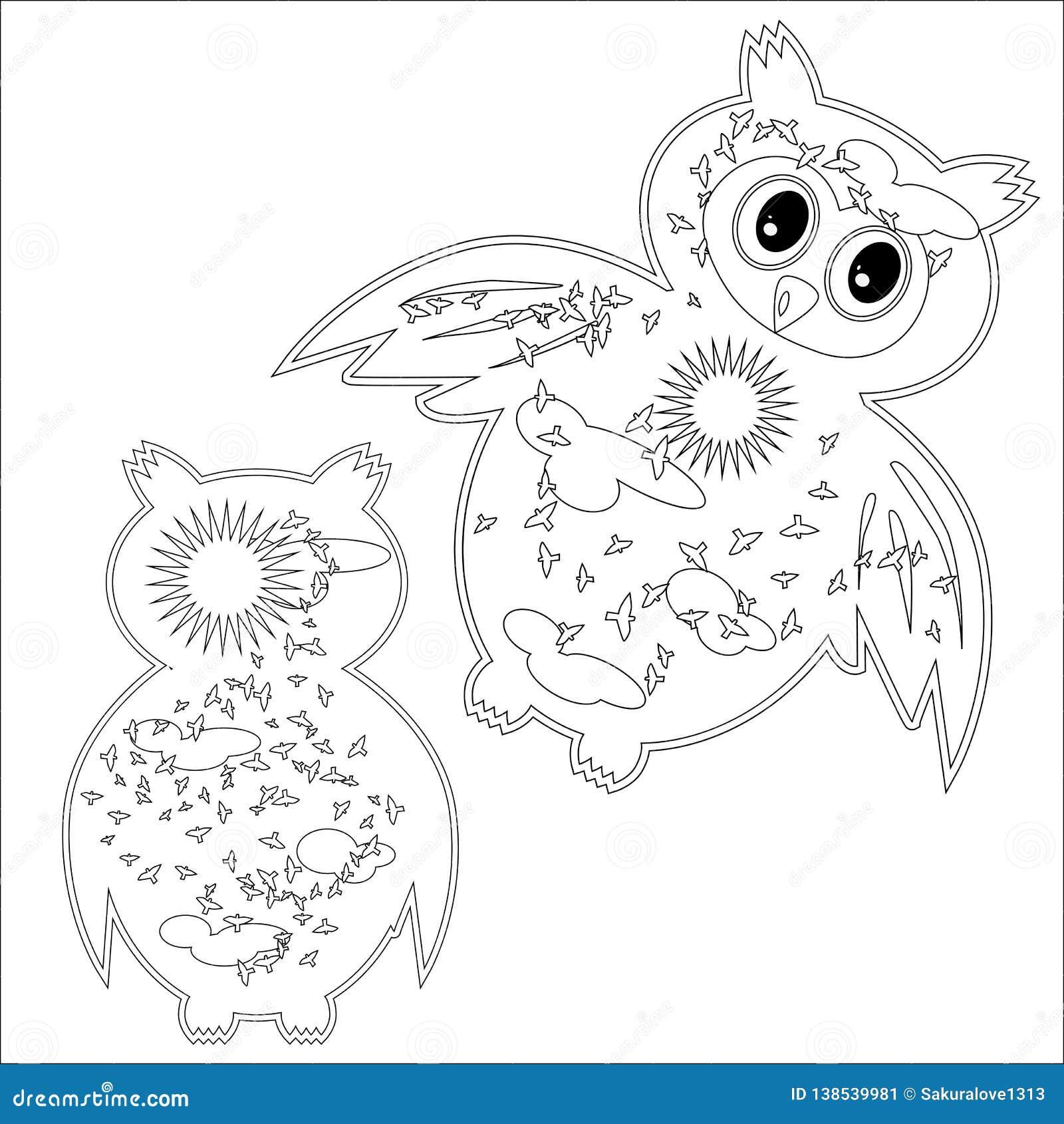 Disegni di gufi da colorare migliore pagina da colorare for Disegni inazuma eleven da stampare