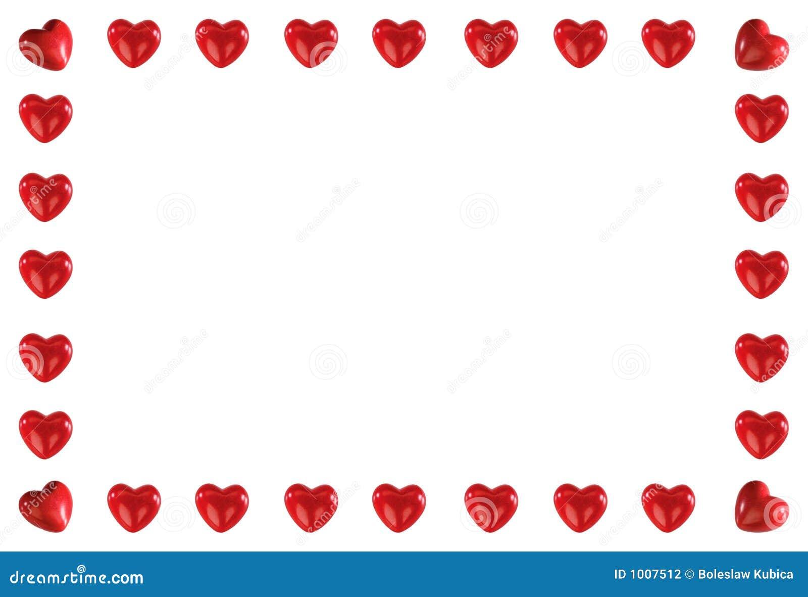 Pagina fatta dei cuori rossi illustrazione di stock for Immagini di cuori rossi