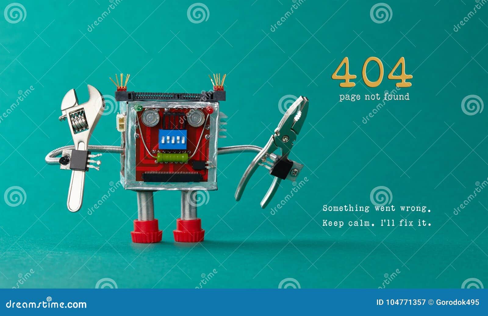 Pagina gevonden niet malplaatje voor website Robotstuk speelgoed hersteller met buigtang regelbare moersleutel, het bericht van d
