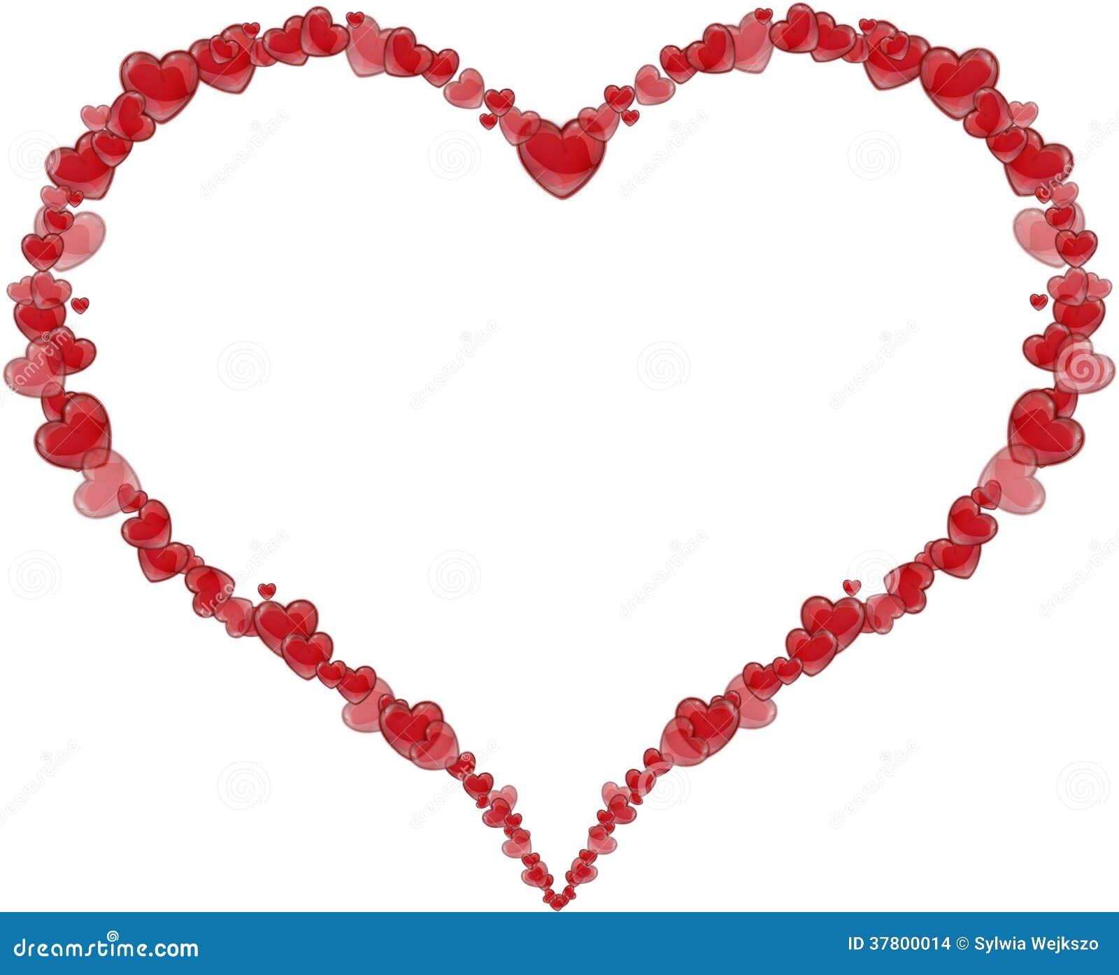 Popolare Pagina Il Cuore Fatto Dei Cuori Per Un San Valentino O Una Festa  XO84