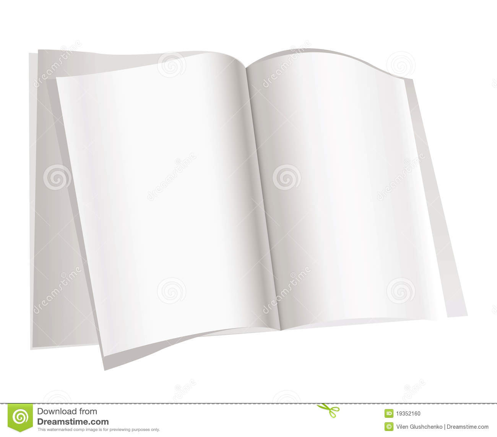 Paginaciones del compartimiento en el fondo blanco