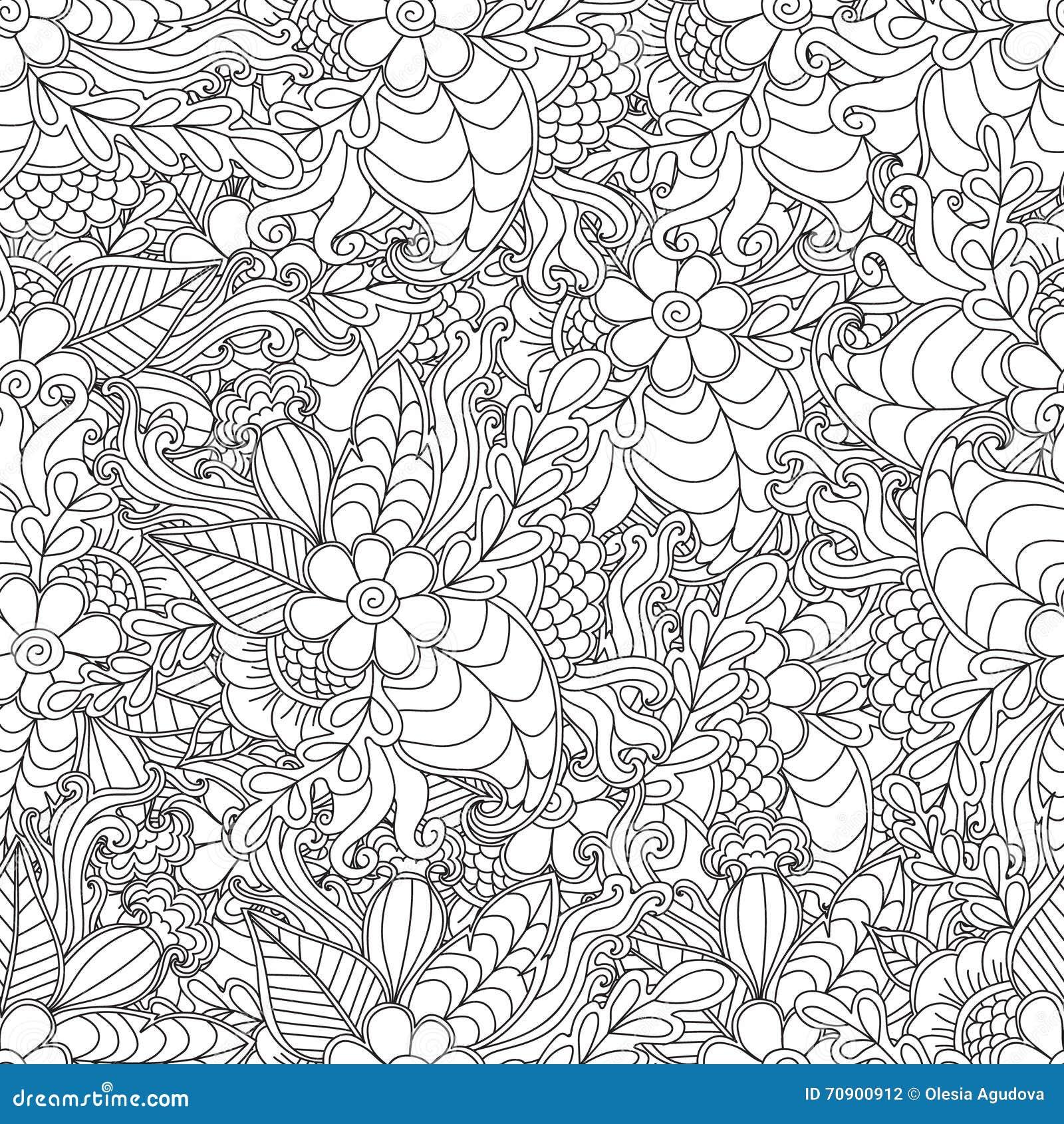 Pagine per il libro da colorare adulto l 39 ornamentale - Adulto da colorare elefante pagine da colorare ...