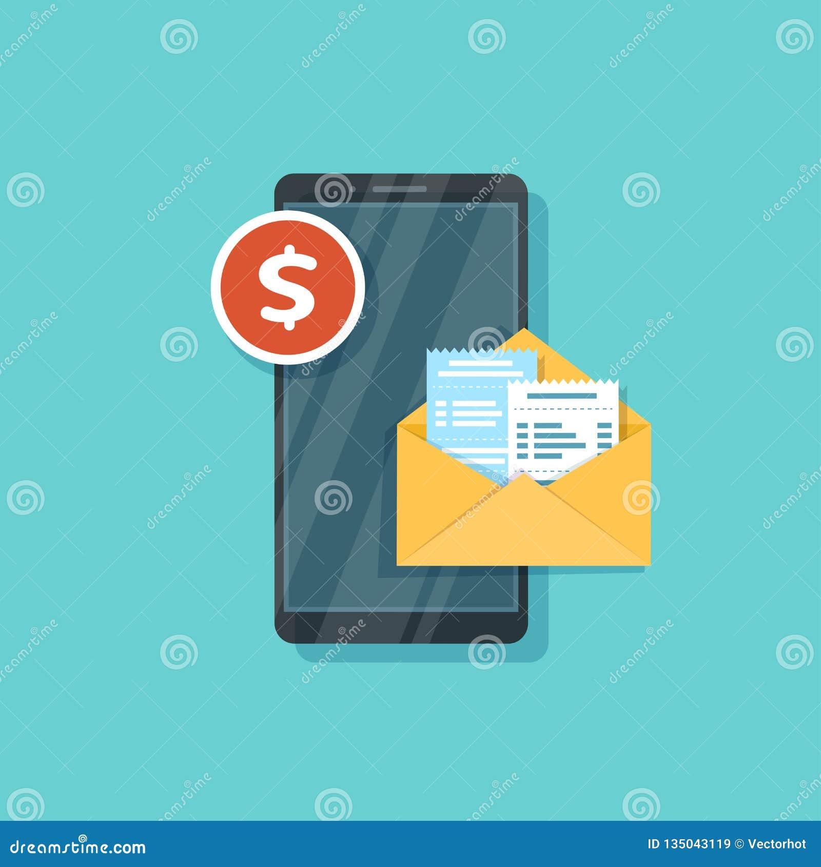 Pago móvil para las mercancías, servicios, haciendo compras usando smartphone Mensaje del pago Actividades bancarias en línea, pa