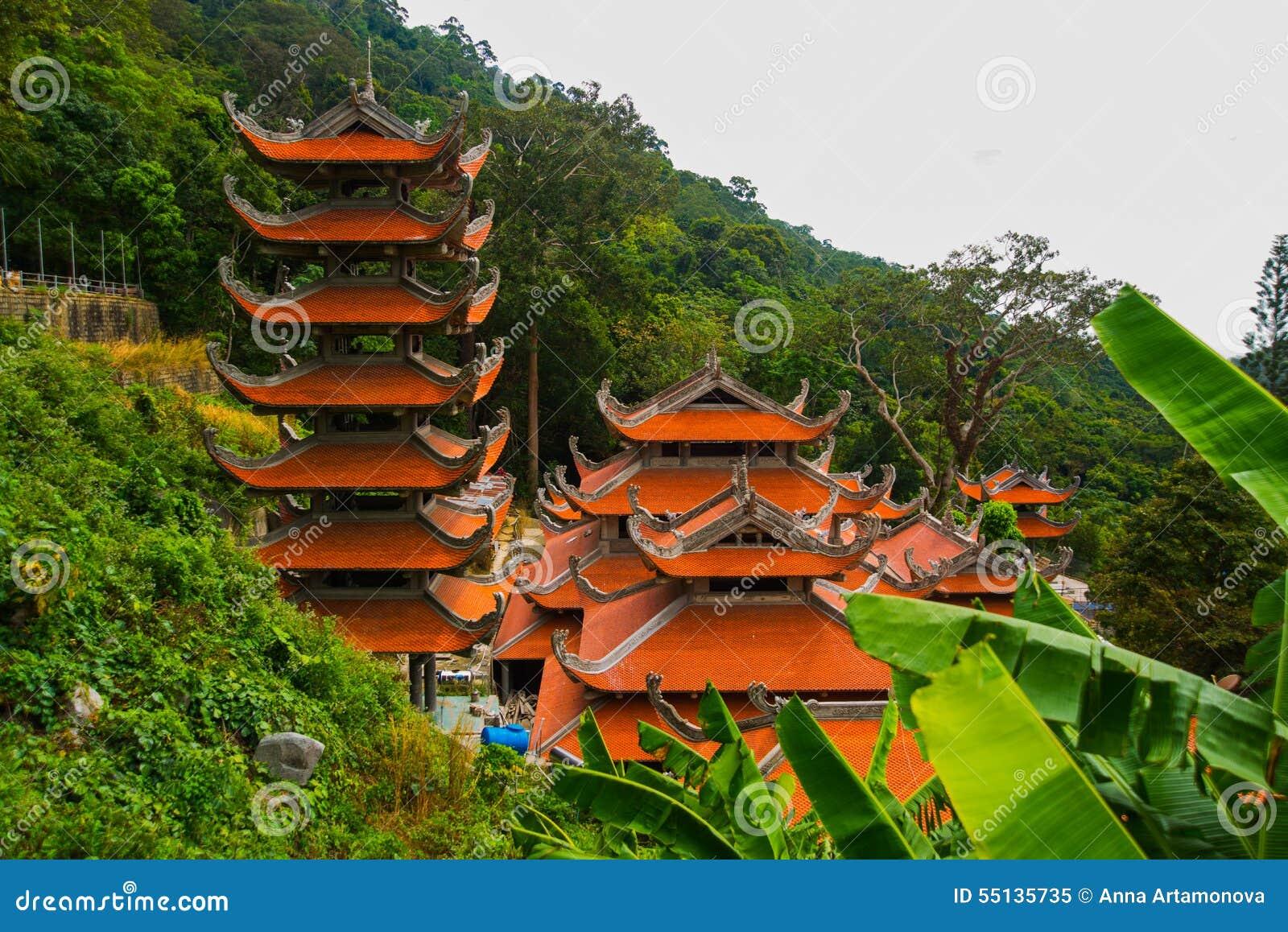 Pagod tempel askfat vietnam Phan Thiet Sommar