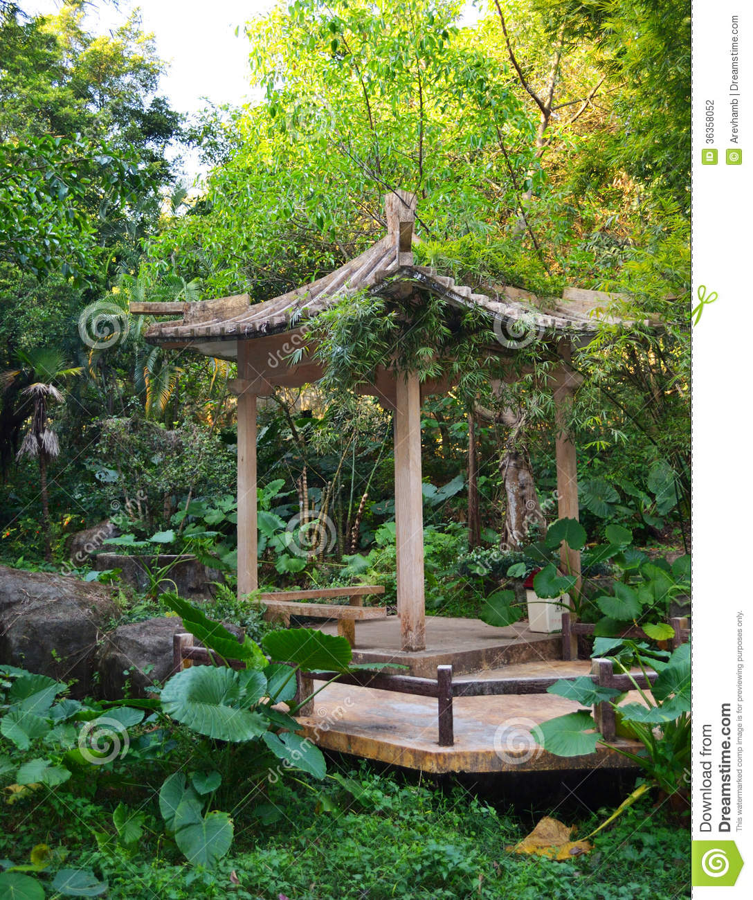 Pagoda In Chinese Garden Stock Photography Image 36358052