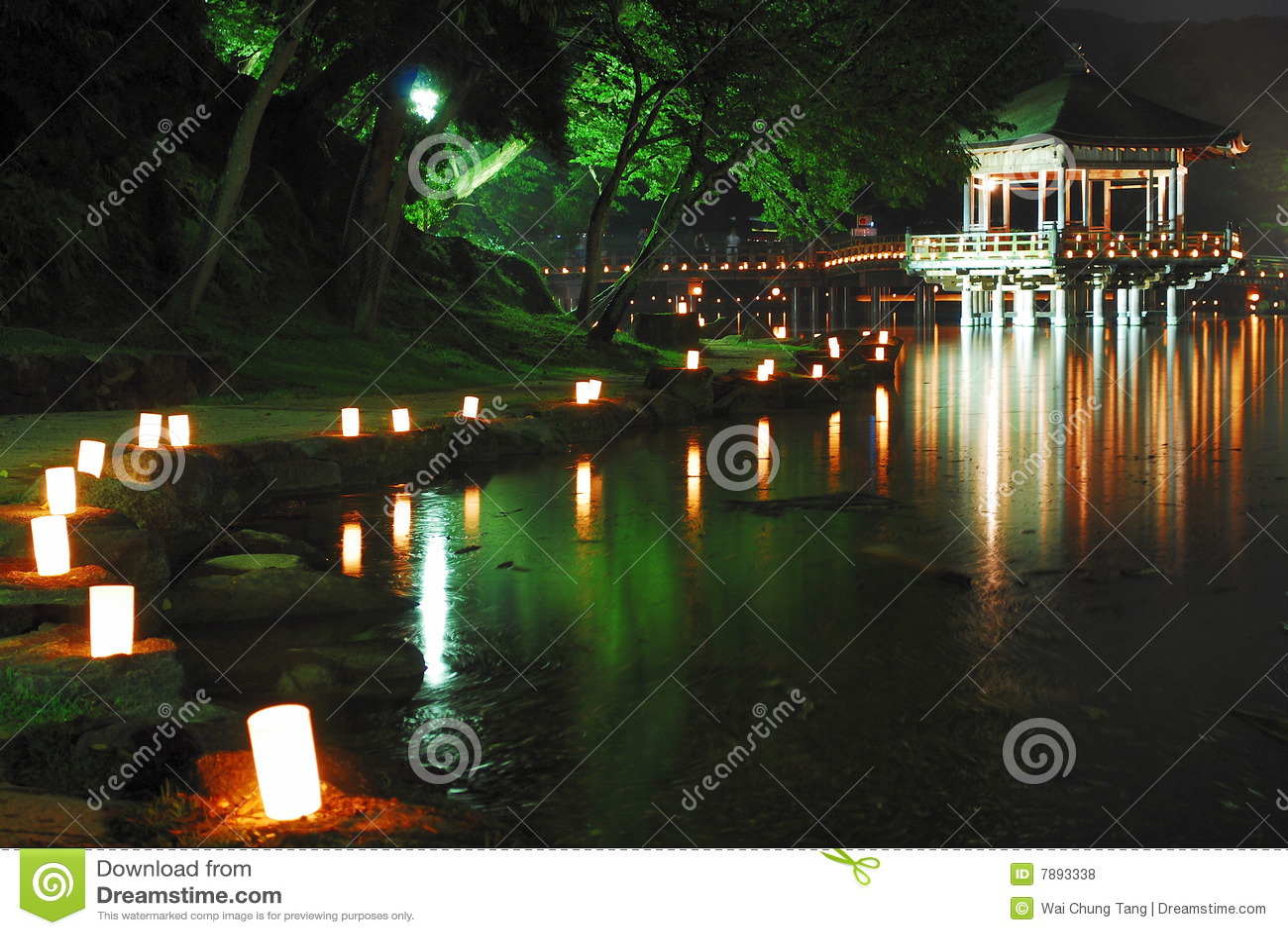 Pagoda de flottement