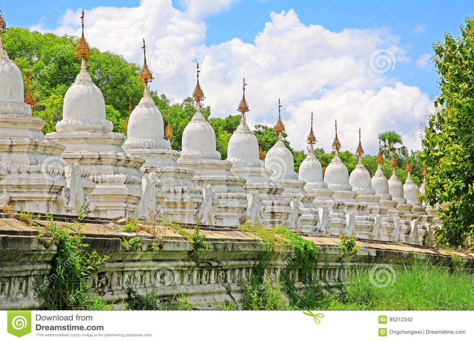 Pagoda de Kuthodaw, Mandalay, Myanmar