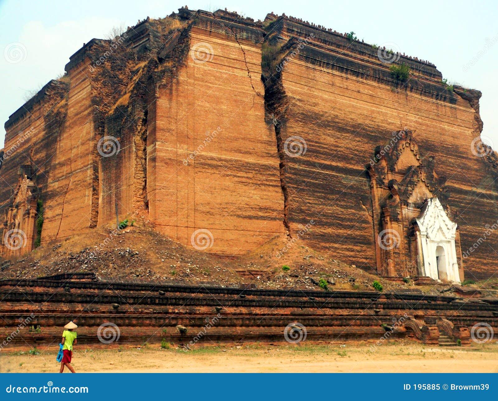 Pagoda de Mingun (Mantara Gyi) (construite 1790-7)