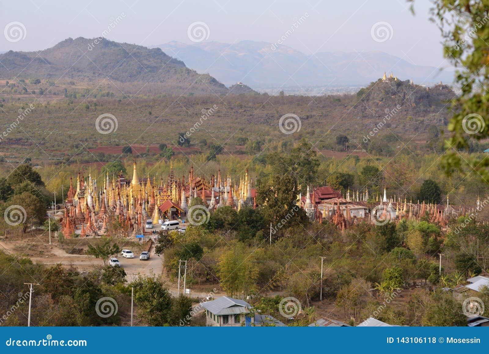 Pagoda de Shwe Indein