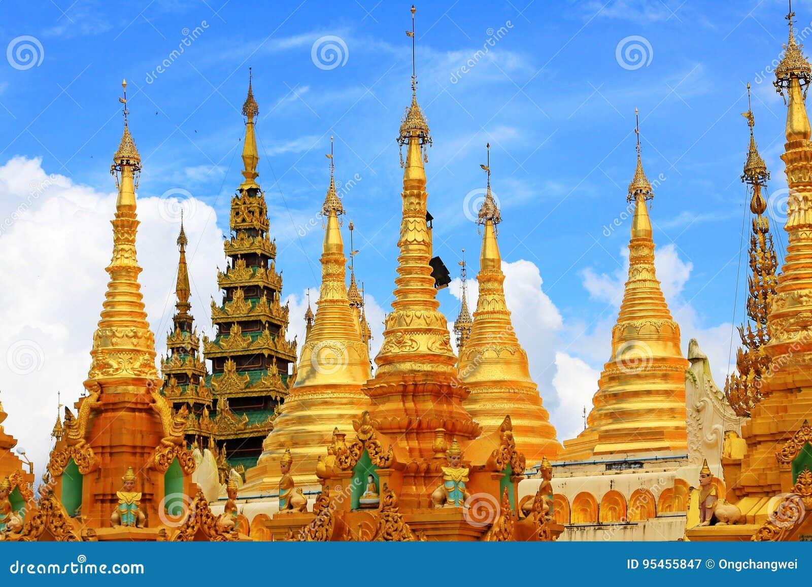 Pagoda de Shwedagon, Yangon, Myanmar