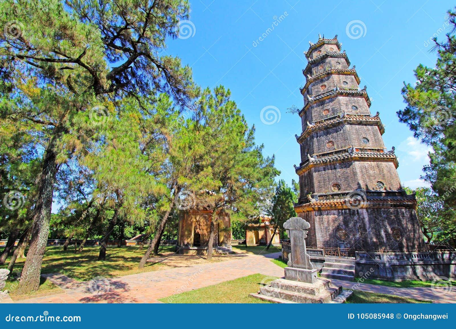 Pagoda de Thien MU, Hue Vietnam