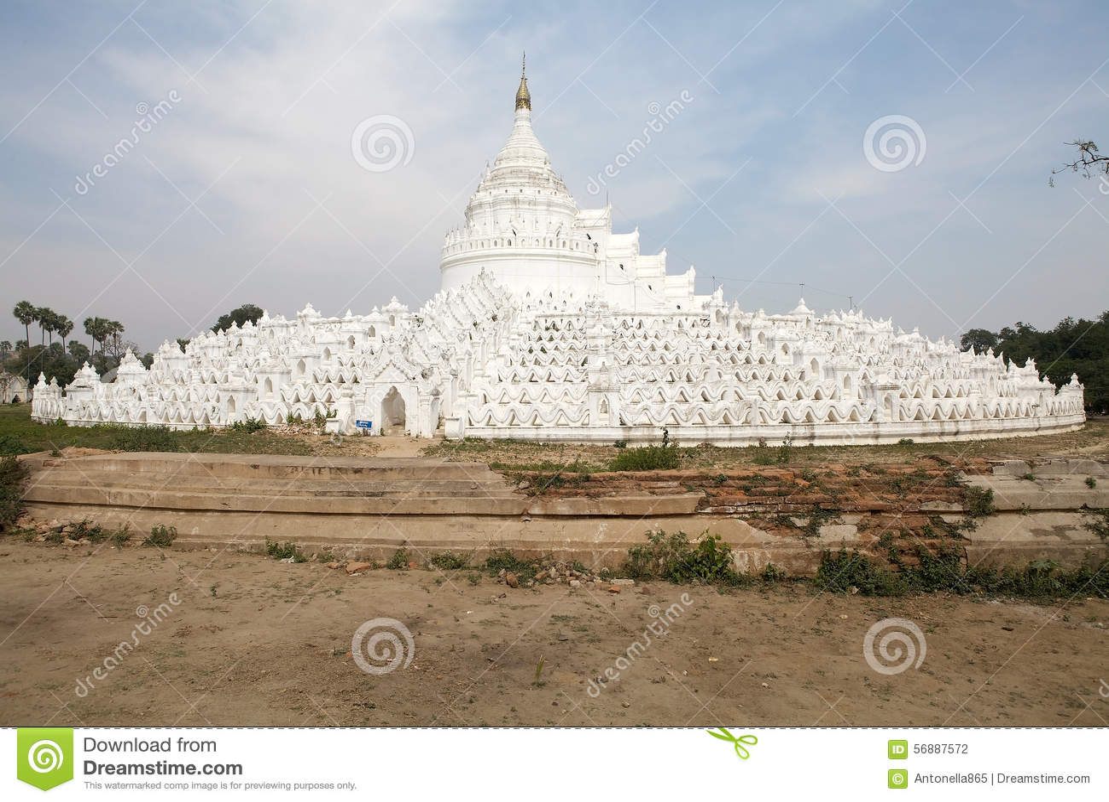 Pagoda di Hsinbyume o pagoda Myanmar di Myatheindan
