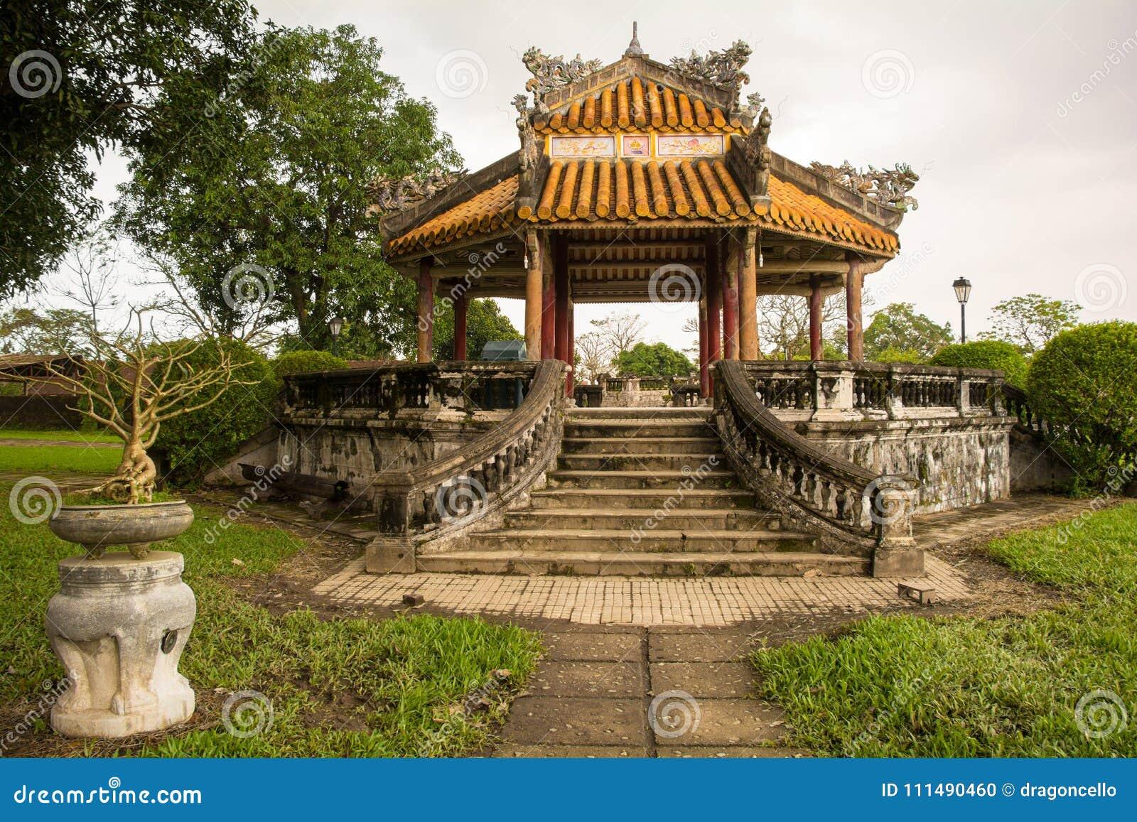 Pagoda en Hue Imperial City