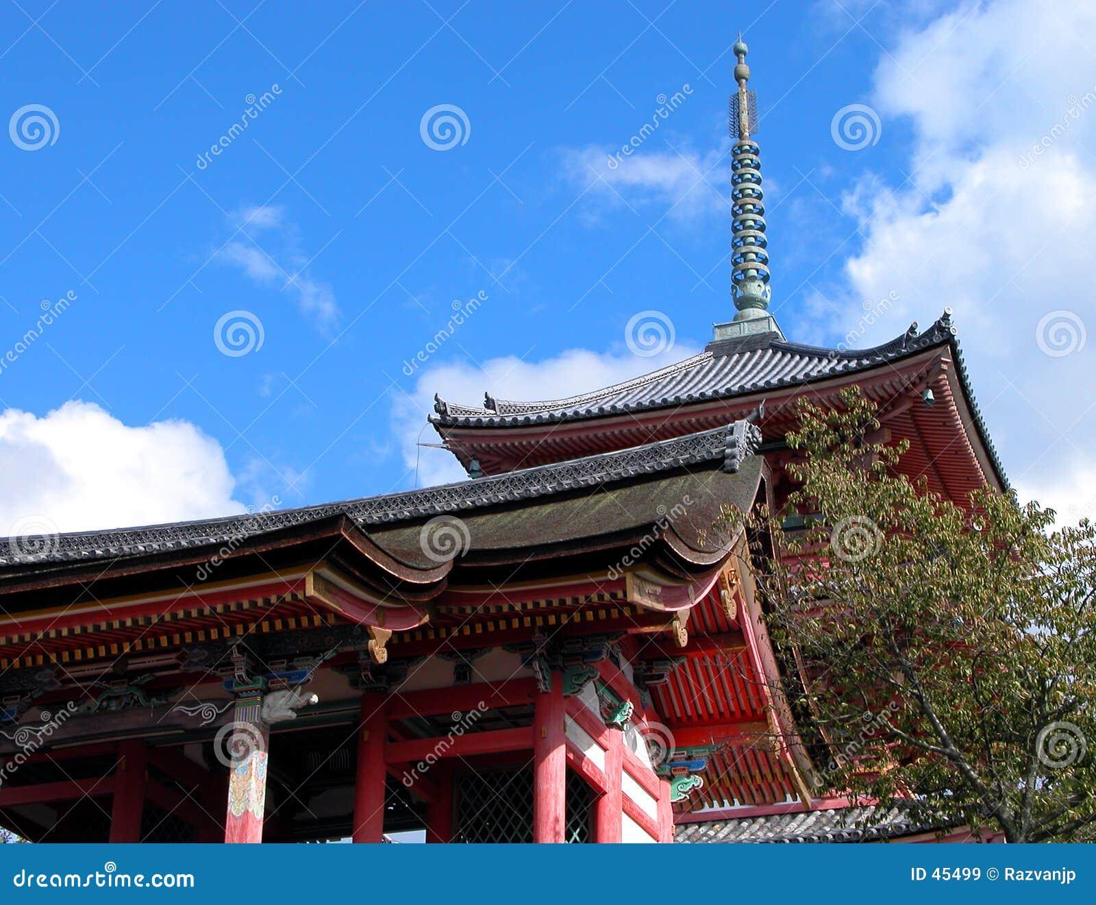 Pagoda kyomizudera