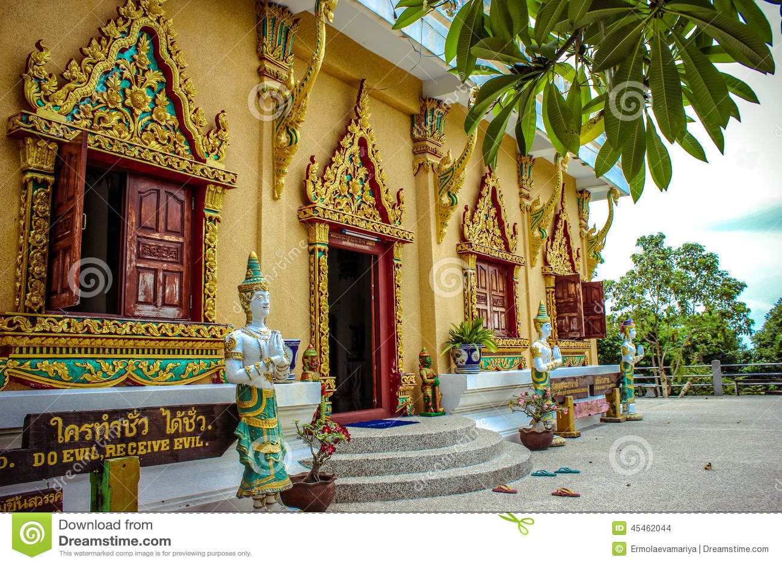 Pagoda Laem Sor, Thailand Koh Samui