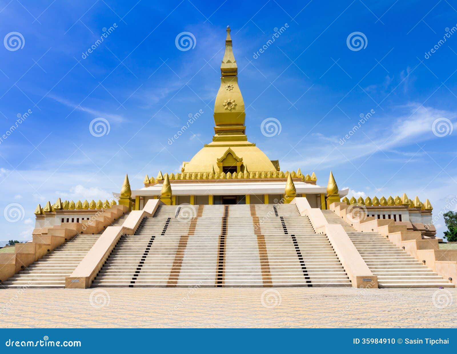 Roi Et Thailand  City new picture : Pagoda Mahabua, Roi Et, Thailand.