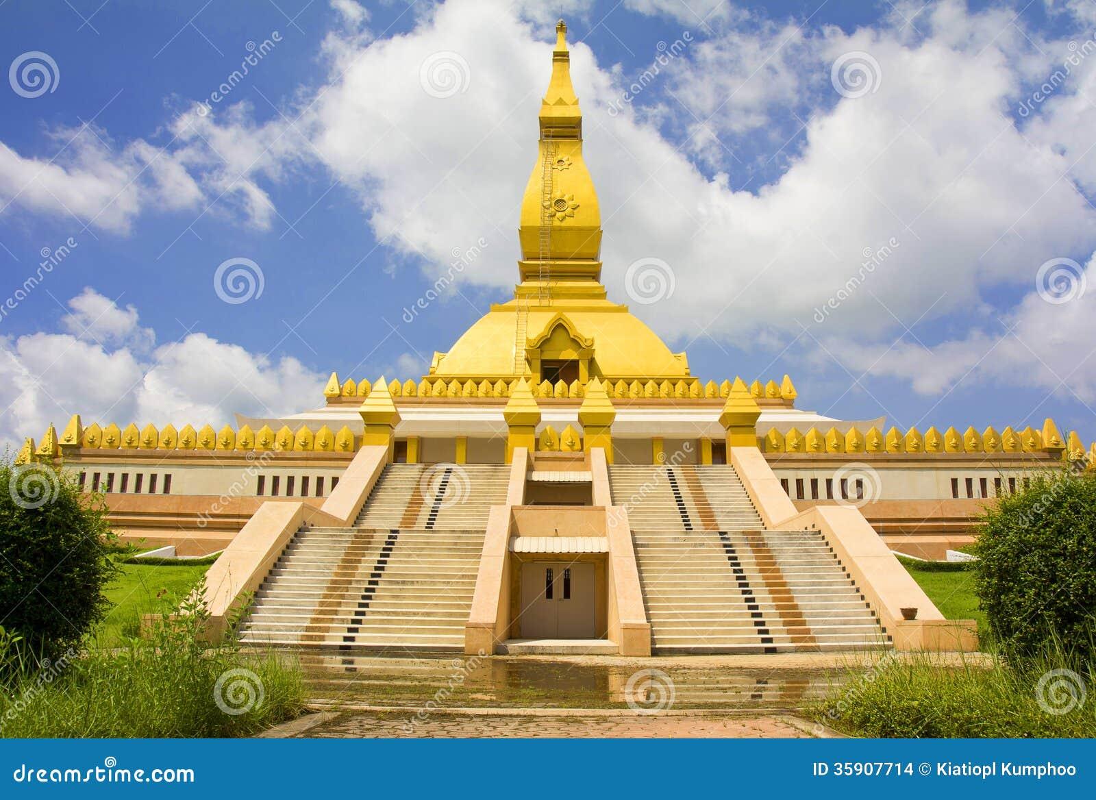 Roi Et Thailand  city images : Pagoda Mahabua, Roi Et, Thailand Stock Images Image: 35907714