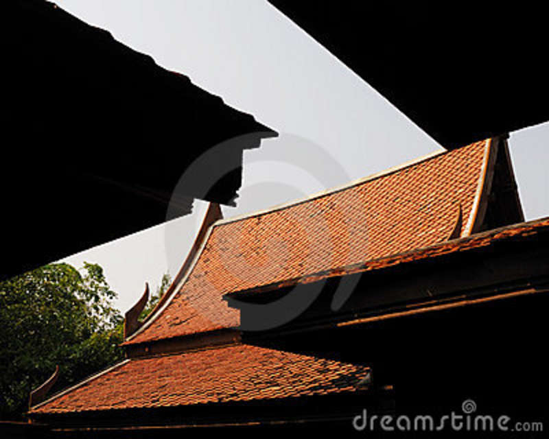 Royalty Free Stock Image Pagoda Roof Image 8336916