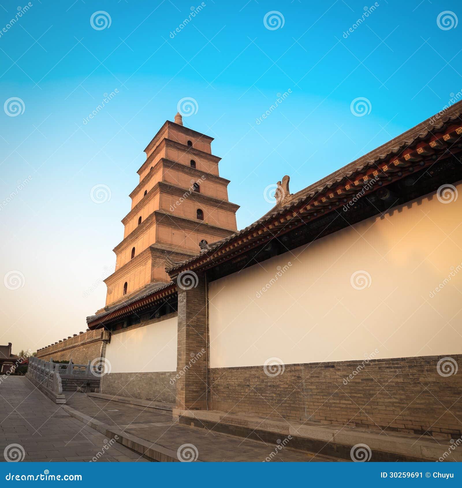 Pagoda sauvage géante chinoise d oie