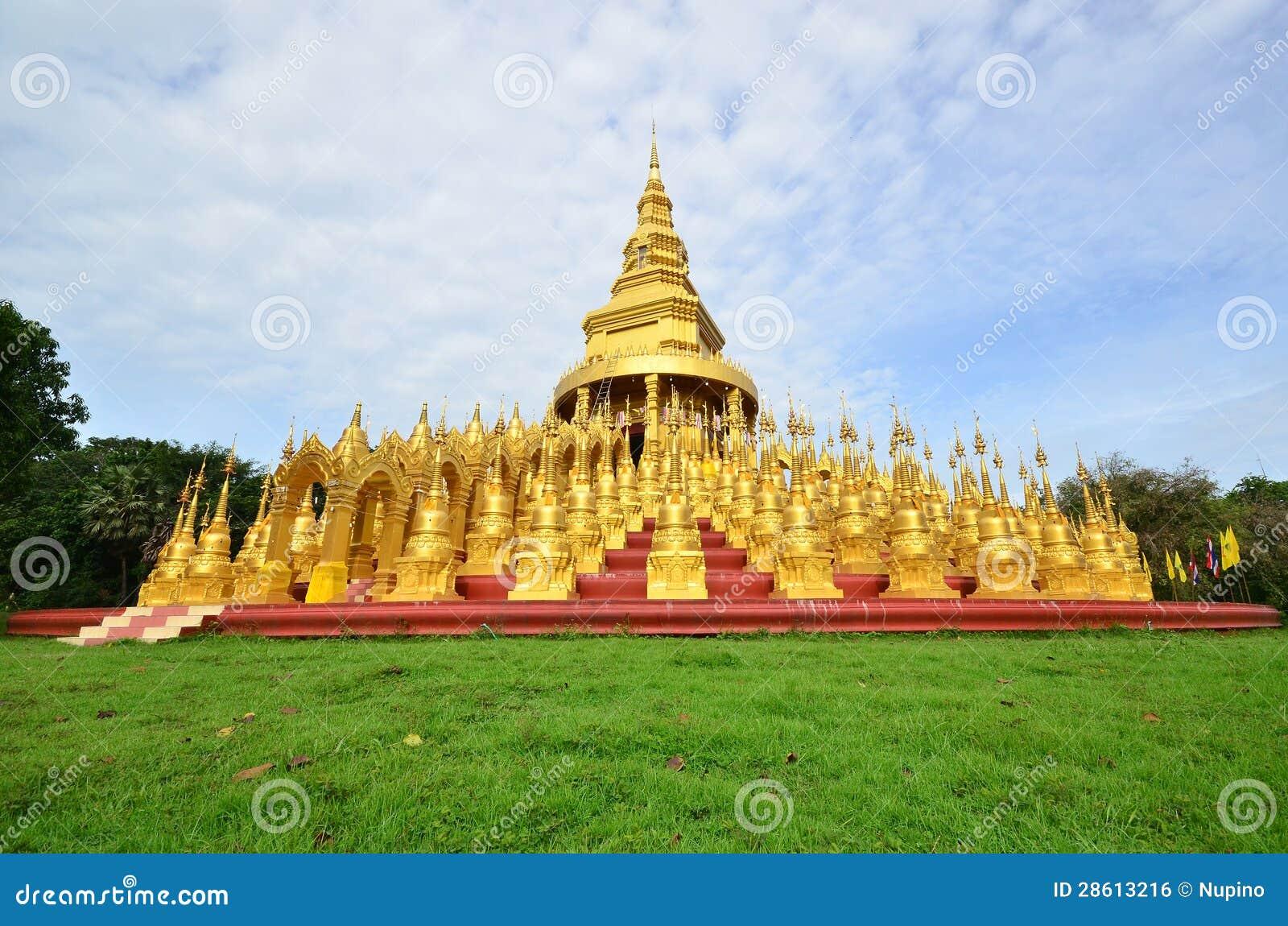 Pagode in de Zegen van Sa Wang van de Pa Wat