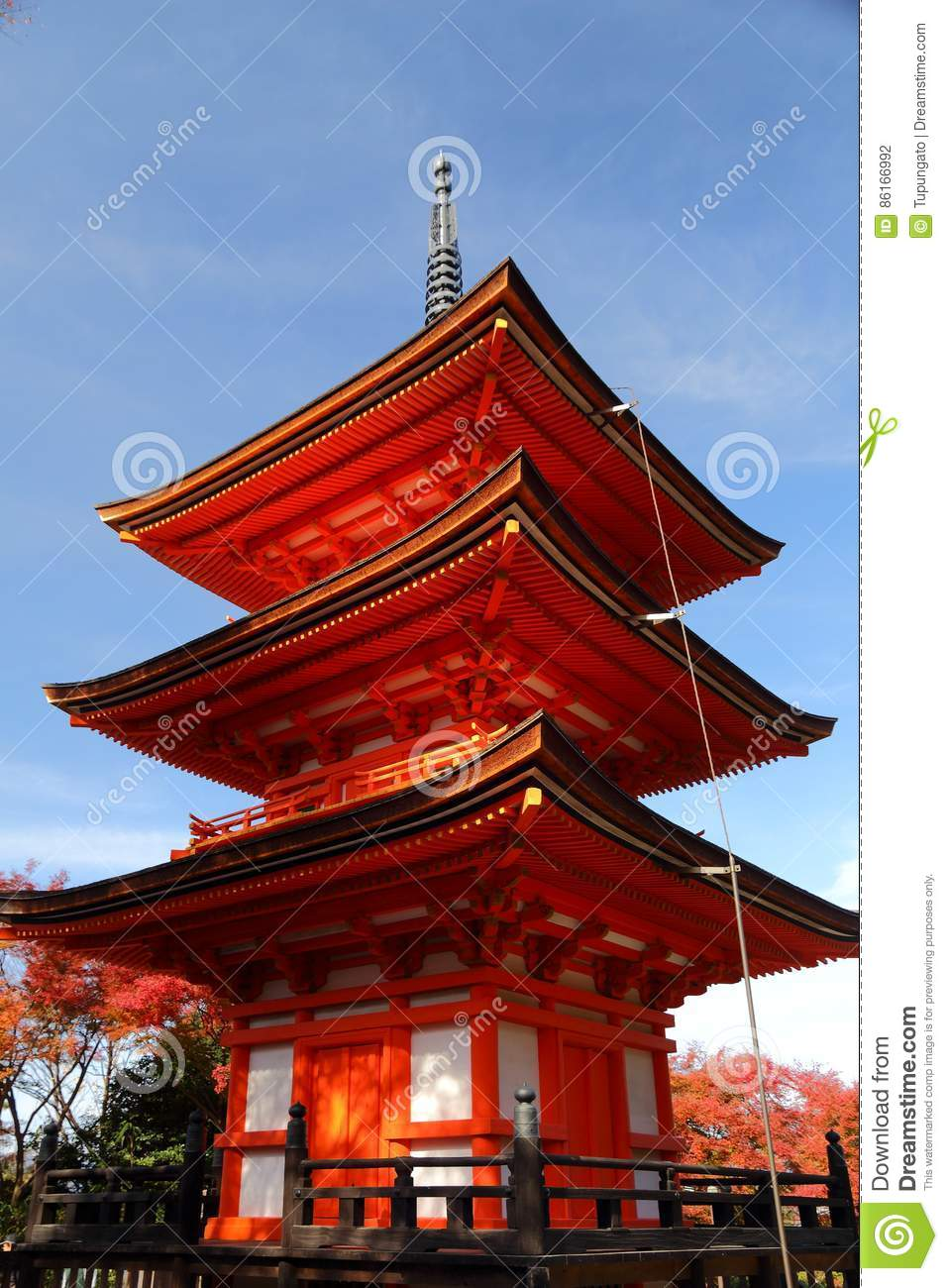 Pagode in Japan