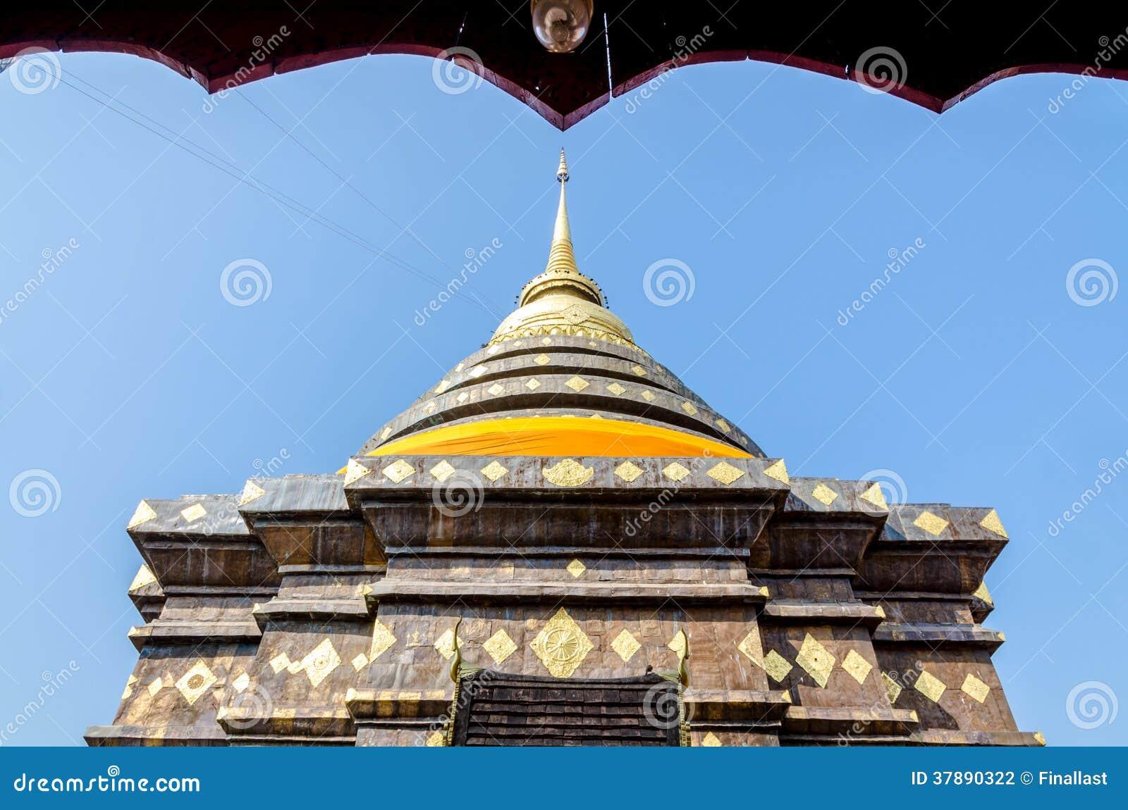 Pagode in Wat Pra That Lampang Luang
